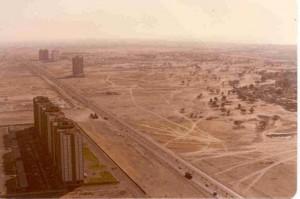 Dubai in 1990