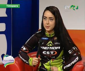 Alexandra Lazăr se alătură echipei NoMad Merida CST
