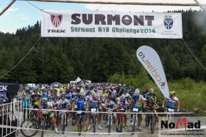 Start Surmont MTB Challenge 2014
