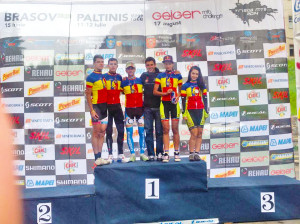 Podium la Păltiniș Stage Race 2014